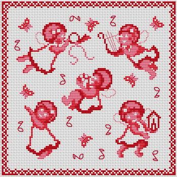 Маленькие ангелы - Монохром