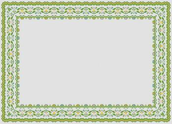 Рамки для оформления вышивки крестом 24